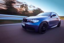 BMW 125i 300PS Fotoshooting